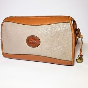 Dooney and Bourke all Leather cross body bag